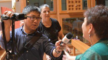 Interview für ABS-CBN