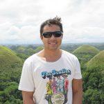 Philip bei den Chocolat Hills - Bohol, Philippines
