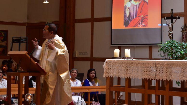 Gottesdienst der philippinschen Gemeinde